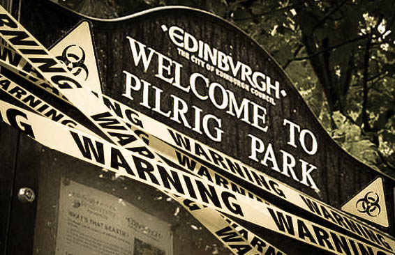 Pilrig Park by Comas Zombie Chase (edited)