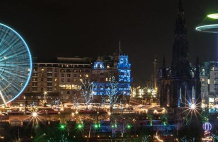 Edinburgh Christmas Market by Alasdair