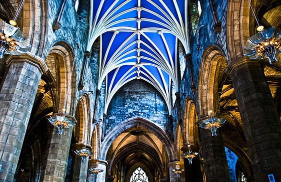 St Giles Cathedral by Gary Ullah