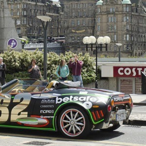 Gumball 3000 Rally Edinburgh