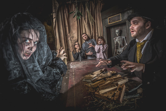 Visit Edinburgh Dungeons today