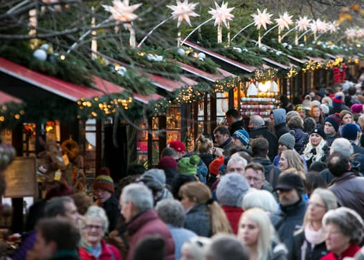 Photography of Christmas market by Lloyd Smith