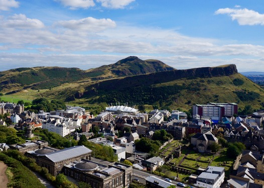 Arthur's seat is an iconic dog walking route