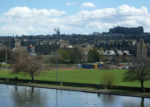 Filled with dogs, Inverleith Park is the perfect place to take your four-legged friend